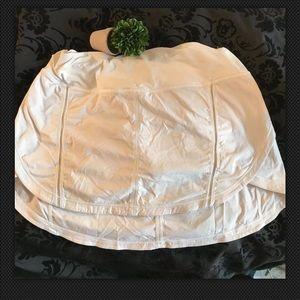 Lululemon Sz 10 White Tennis Skirt
